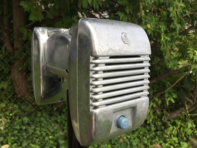 RCA Drive-In Movie Car Show Prop Speaker Casting Set With Junction Box + Knobs