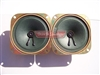 2 New Replacement 4 inch 8 Ohm 5 Watt  Drive In Movie Theatre or PA Speaker Set