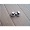 Two New Chrome Plated Cone Shape Famous Drive-In Movie Speaker Knobs