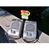Two New Indoor Outdoor Detroit Diecast RCA Drive-In Theatre Movie Speaker Set