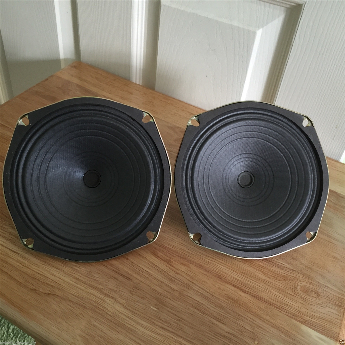 2 Nos 6 1 4 8 Ohm Projected Sound Co Op Drive In Movie Theatre Speakers