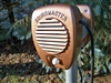 Restored 1960s Bronze Hammertone Sound Master Drive-In Movie Speaker Set