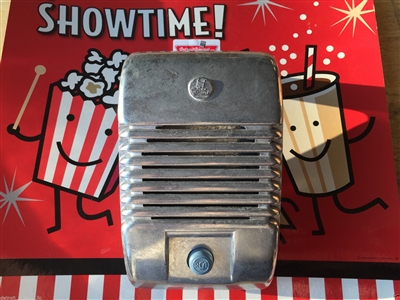 Single New RCA Drive-In Movie Car Show Prop Speaker Casting With Blue Knob